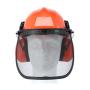 """Vorschau: Forstschutz-Helmkombination """"BASIC"""" orange SNR-22db"""