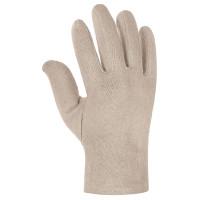 """Vorschau: Baumwoll-Jersey-Handschuhe """"BASIC"""" rohweiß mit Schichtel"""
