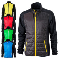 Vorschau: Men's Hybrid Jacket JN593 - James & Nicholson®