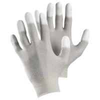 Vorschau: ESD-Nylon/Kohlefaser Feinstrickhandschuhe TEGERA® 810 grau