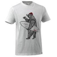 """Vorschau: T-Shirt """"Bär mit Surfboard"""" - MASCOT® Advanced"""