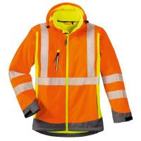 """Vorschau: Warnschutz Softshelljacke """"Houston"""" - 4PROTECT® orange"""