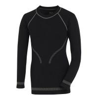 """Vorschau: Funktions-Unterhemd """"8512"""" Langform - texxor® schwarz/grau"""