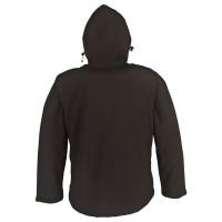 Vorschau: Softshell-Jacke mit Applikationen - PKA® schwarz