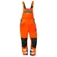 """Vorschau: Warnschutz-Latzhose """"METZ"""" - elysee® Orange/Grau 44"""