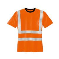 """Vorschau: Warnschutz T-Shirt """"HOOGE"""" - teXXor® orange"""
