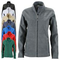 Vorschau: Ladie's Workwear Fleecejacke - J&N® black/carbon