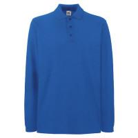 Vorschau: Longsleeve Polo-Shirt Premium 63-310-0 - FOL® navy