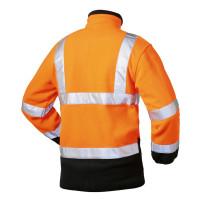 """Vorschau: Warnschutz-Softshell-Jacke """"BILL"""" m. Kapuze - elysee® orange"""