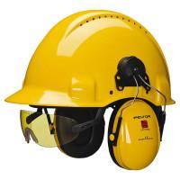 Vorschau: Integrierte Schutzbrille gelb für PELTOR Schutzhelme - 3M®
