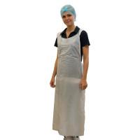 Vorschau: PE-Schürzen glatt 76x125cm 30µ weiß - NITRAS Medical® | 500 Stk. pro Karton