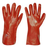 Vorschau: Vinyl-Handschuhe m. Trikotfutter 35cm strongHand®