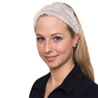 Vorschau: Haarband Weiß - NITRAS Medical® | 1000 Stk. pro Karton