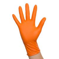 Tough Grip Nitril Handschuhe orange Größe XXL 250 Stk.