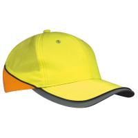 Vorschau: Neon-Reflex-Cap - myrtle beach - neon-yellow/neon-orange