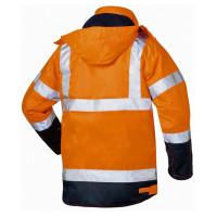 """Vorschau: Warnschutz Jacke 2-in-1 """"PHILIPP"""" - elysee® orange/marine"""