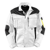 "Vorschau: Workwear Bundjacke ""Arkansas"" - 4PROTECT® weiß/grau"