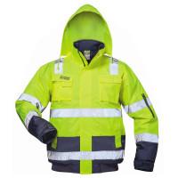 """Vorschau: Warnschutz Pilotenjacke """"AXEL"""" - safestyle® gelb/marine"""