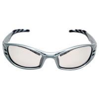 """Vorschau: Schutzbrille """"FUEL"""" grau, verspiegelt - 3M®"""