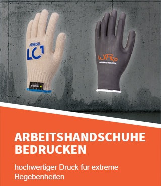 c117479733c625 Handschuhe Bedrucken   Arbeitshandschuhe   Arbeitsschutz-Express