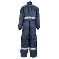 Vorschau: Kühlhaus Overall Planam aus 100% Nylon Oxford marine XXXL