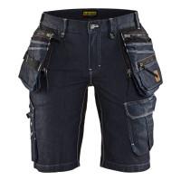 """Vorschau: Damen Jeans Handwerker Shorts """"7992"""" X1900 - BLAKLÄDER® marine"""