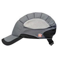 """Vorschau: Cap """"pro"""" mit Anstoßkappe - VOSS Helme® anthrazit/schwarz"""