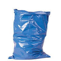 Vorschau: Abfallsäcke LDPE-Gewebe 120L 700x1100mm 55my blau| 25Stück