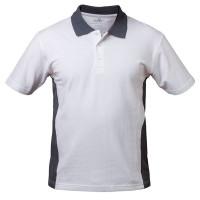 """Vorschau: Poloshirt """"CADIZ"""" - elysee® Weiß/Grau XL"""