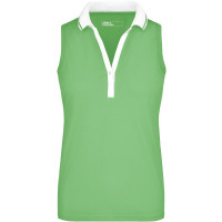"Vorschau: Damen Elastic Polo-Shirt Ärmellos ""JN159"" - James & Nicholson®"