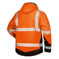 """Vorschau: Warnschutz Winter-Softshell-Jacke """"LUKAS"""" - elysee® orange"""