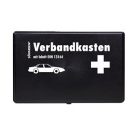 Vorschau: KFZ- Verbandkasten KU, schwarz, DIN13164, SÖHNGEN®