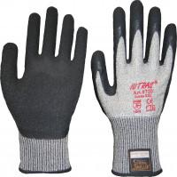 """Vorschau: Latex-Schnittschutzhandschuhe """"6720"""" NITRAS TAEKI5® grau"""