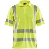 """Vorschau: Warnschutz Polo-Shirt mit UV-Schutz """"3428"""" - BLAKLÄDER®"""