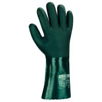 Vorschau: PVC-Chemikalienschutz-Arbeitshandschuhe m.Futter teXXor® 35cm