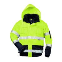"""Vorschau: Warnschutz-Pilotenjacke """"SIEGFRIED"""" elysee® gelb/marine"""