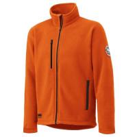 """Vorschau: Fleece-Jacke-Pullover """"LANGLEY"""" Helly Hansen® Orange"""