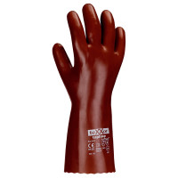 Vorschau: PVC-Chemikalienschutzhandschuhe teXXor® rot | 27cm