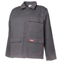 Vorschau: Hitze-/ Schweisserschutz Jacke Planam 500g/m² grau 42
