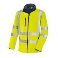 XXL Bekleidung & Schutzausrüstung Airsoft Softshellwarnjacke Melvin gelb-schwarz Gr
