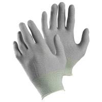 Vorschau: ESD-Nylon/Kohlefaser Feinstrickhandschuhe TEGERA® 805 grau