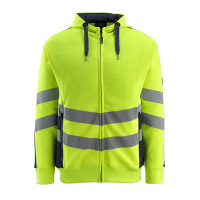 Vorschau: WarnKapuzensweater Corby MASCOT®SafeSupreme rot/anthrazit