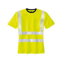 "Vorschau: Warnschutz T-Shirt ""HOOGE"" - teXXor® gelb"