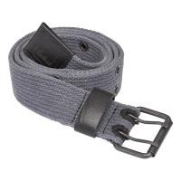 Vorschau: Doppeldorn-Textilgürtel - MACSEIS® grau