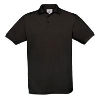 Vorschau: Polo Safran Unisex kurzarm 180g/m² - B&C® black, L