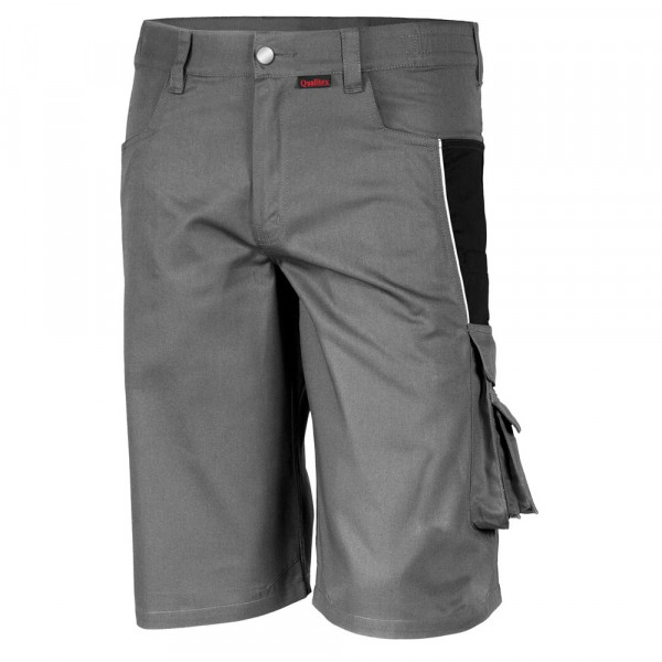 "Shorts ""pro mg 245"" - Qualitex® grau/schwarz"