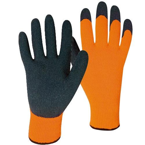 Latexbeschichtete Arbeitshandschuhe Winter Handschuh Stronghand RASMUSSEN Gr 10