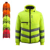 Vorschau: WarnThermojacke Dartford MASCOT® Safe Supreme rot/anthrazit