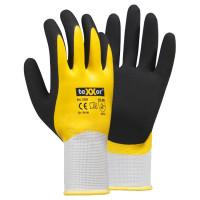 Vorschau: Polyester-Strickhandschuhe Latexbeschichtung - teXXor®