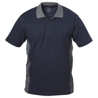 "Vorschau: Poloshirt ""BILBAO"" 220g/m² - elysee® marine/grau"